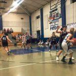 Girls 7th Grade Basketball falls to Willow Wood JH 34 – 33