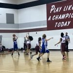 Girls 7th Grade Basketball beats Shultz Junior High 20 – 9