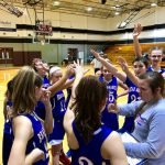 Girls 8th Grade Basketball beats Shultz Junior High 33 – 12