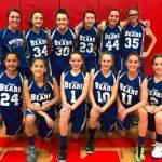 Girls 7th Grade Basketball beats Woodridge Forest Middle School 26 – 21