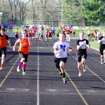 Junior High Track Team Participate In The County Meet