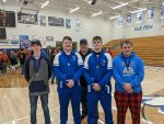 Wrestling Norsemen finished 3rd; however, earned Four Individual Wabash County Champions