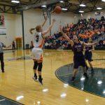 Central Montcalm High School Girls Varsity Basketball falls to Big Rapids High School 52-42
