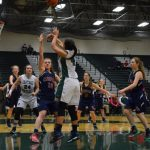 Central Montcalm High School Girls Junior Varsity Basketball beat Big Rapids High School 45-33