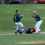 Baseball drops to Alma 4-0 in District Semifinals