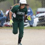 Central Montcalm High School Junior Varsity Softball beat Big Rapids High School 14-4