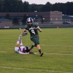 Varsity Football team defeated by Reed City