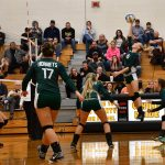 Varsity Volleyball loses to Tri County in 3 sets