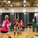 Lady Hornets Volleyball team beats Tri County in District Semi's