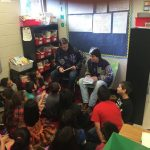 Rattler Boys read to the future at Mendez Elementary