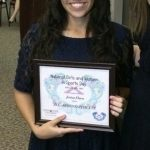 "Jenica Wins ""All Around Athlete"" Award!!!"