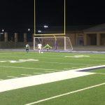 Varsity Soccer Girls Mark off Bryan Rudder