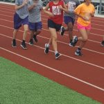 Lady Rattlers Basketball on the track!