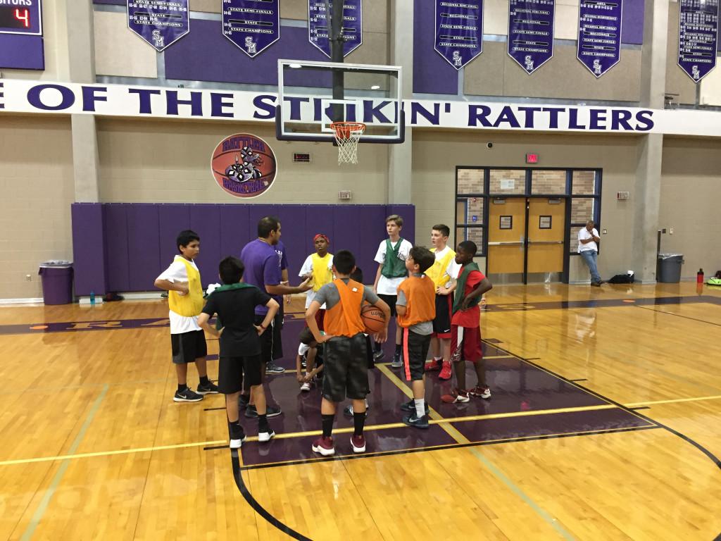 Rattlers Boys Basketball Camp