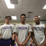 Freshman Rattlers Battle Del Valle
