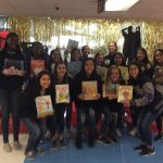 LADY RATTLER  ATHLETES PARTICIPATE IN READING MANIA DAY AT MENDEZ ELEMENTARY