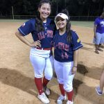Seniors Melanie Castilla And Ariana Alonso Shine in Senior All-Star Game