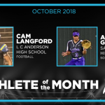 Andrea Garcia Voted Athlete of the Month