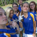 Girls golf looses in nail biter