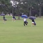 Girls golf battles Aynor and the weather