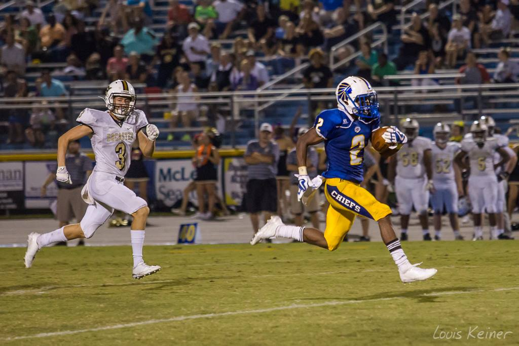 Chiefs Crush St. James To Clinch Outright Region 7-4A Title