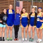 North Myrtle Beach High School Girls Varsity Cross Country finishes 1st place