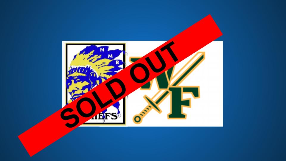 UPDATE – CHIEFS VS. WEST FLORENCE: SOLD OUT