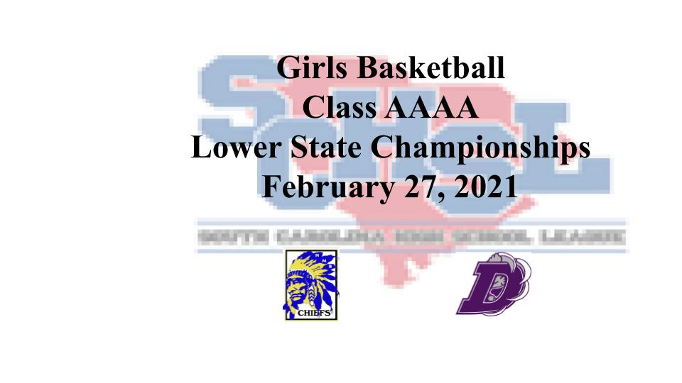 Lady Chiefs Basketball Advance to Lower State Championship