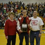 Brad Blank is the 2015 P.C.C. M.E. Dinesmoore Mental Attitude Winner