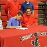 Parker Nuest signs with St. Mary of the Woods