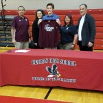 Caleb Oral signs with Calumet College
