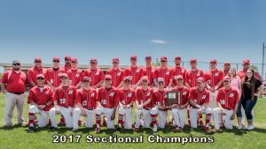2017 Boys Baseball Sectional Champions