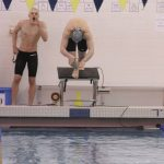 Nate Kozycki shines at Conference Swim meet.