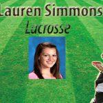 Student Interview–Lauren Simmons