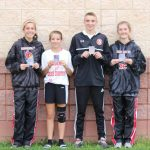 4 Runners Earn Medals