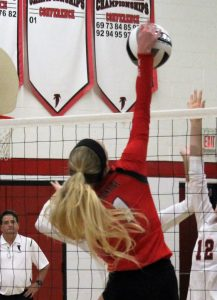 Brookside Varsity wins in 3 to Firelands