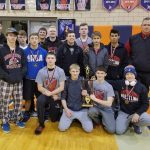 Varsity Cards Wrestling take 2nd