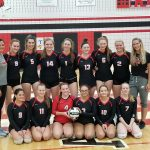 Brookside VB Earns Conference Championship