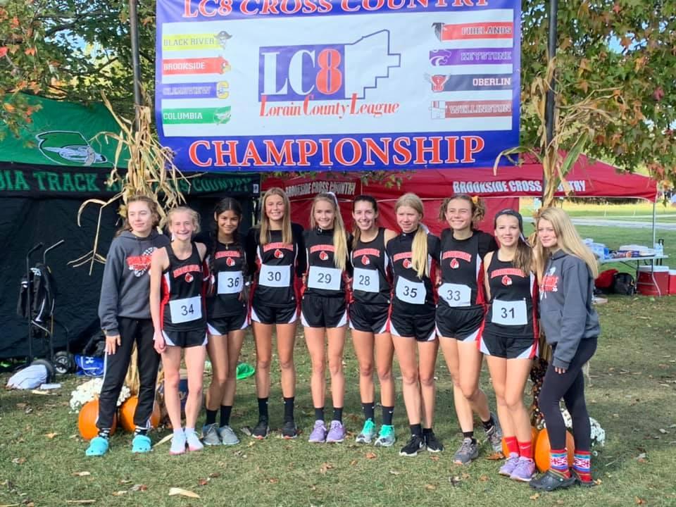 Girls CC Wins Lorain County 8 Championship