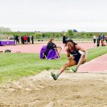 Mariam Davis sets MCHS Long Jump record