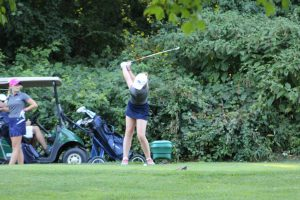 MCHS Wolves defeat Marquette in Girl's Golf