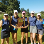 Wolves capture first Girls Golf Sectional title in school history