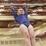 Wolves Gymnastics at IHSAA Chesterton Sectional 2-29-20