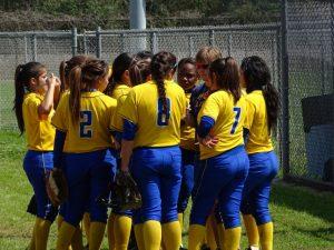 Varsity Softball vs West Brook 3-14-15