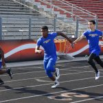 Freshman and JV Teams compete at District Track Meet