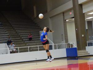Lady Falcon Volleyball vs Dobie 9-6-16