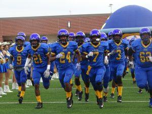 Varsity Football vs Clear Creek 9-2-16