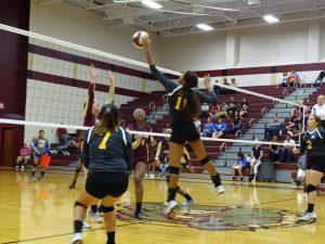 Falcon Volleyball vs Summer Creek 9-9-16
