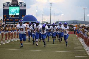 CHS Varsity Football vs C.E. King 9-23-16