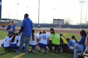 Lady Falcon JV Soccer vs King 2-15-19